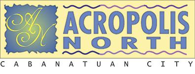 ACROPOLIS NORTH CABANATUAN Subdivision in Cabanatuan, Residential Lot & House and Lot Logo