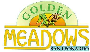 GOLDEN MEADOWS SAN LEONARDO Subdivision in San Leonardo, Residential Lot & House and Lot Logo