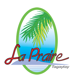 LA PRAIRE Subdivision in Tagaytay, Residential Lot & House and Lot Logo