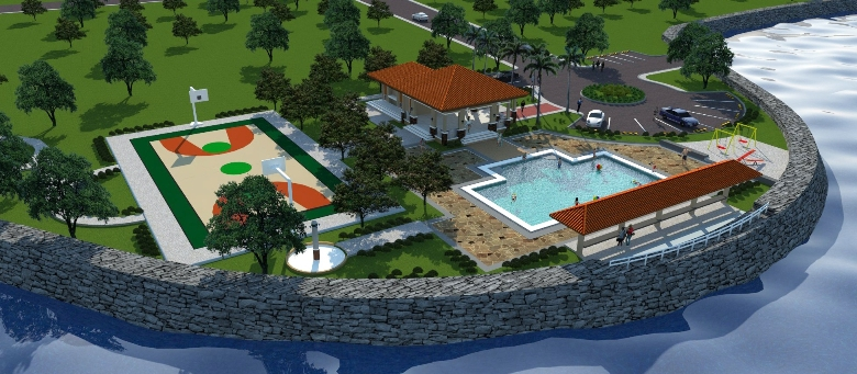 Pangasinan residential subdivision lot in almeria verde for Residential clubhouse designs