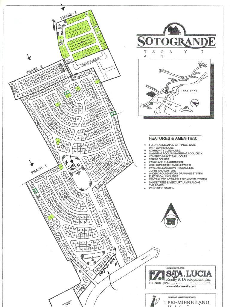 Sotogrande Tagaytay Subdivision In Tagaytay Residential