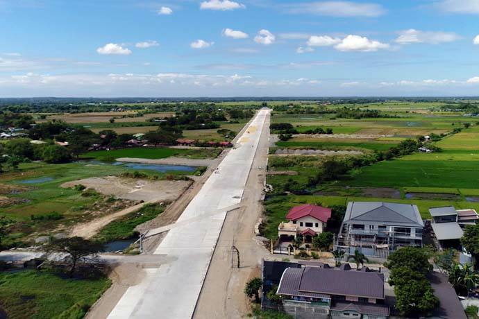 A New Ongoing Development Bypass Road Project In Urdaneta